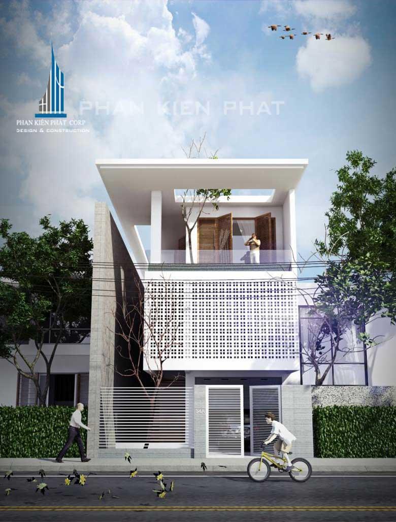 Công trình, Thiết kế xây dựng nhà phố, Anh Nguyễn Trực