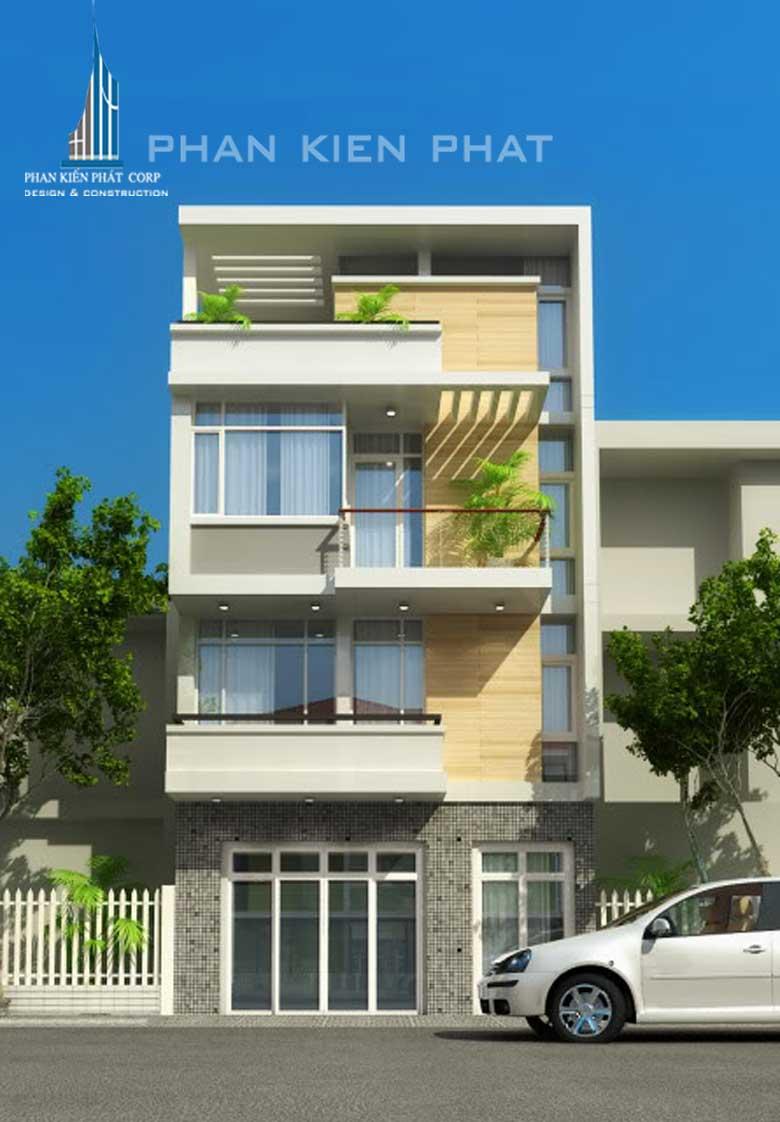 Công trình, Thiết kế xây dựng nhà phố, Chị Trần Tố Liên
