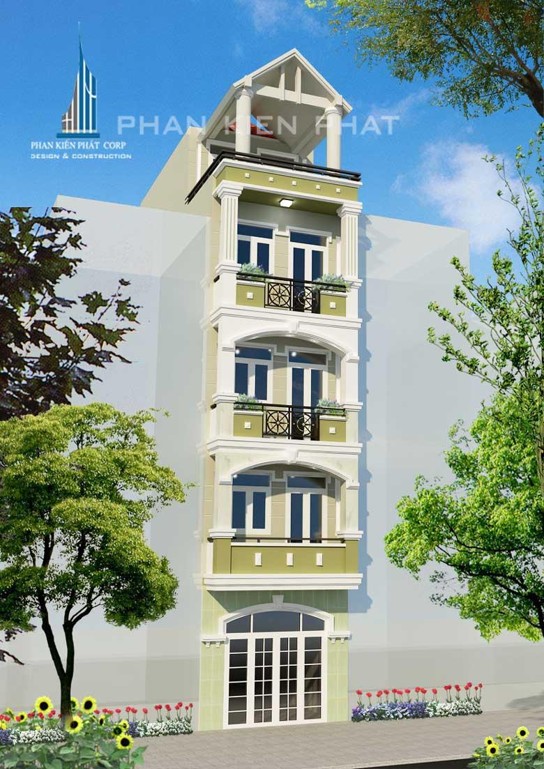 Công trình, Thiết kế xây dựng nhà phố, Phạm Vũ Độ