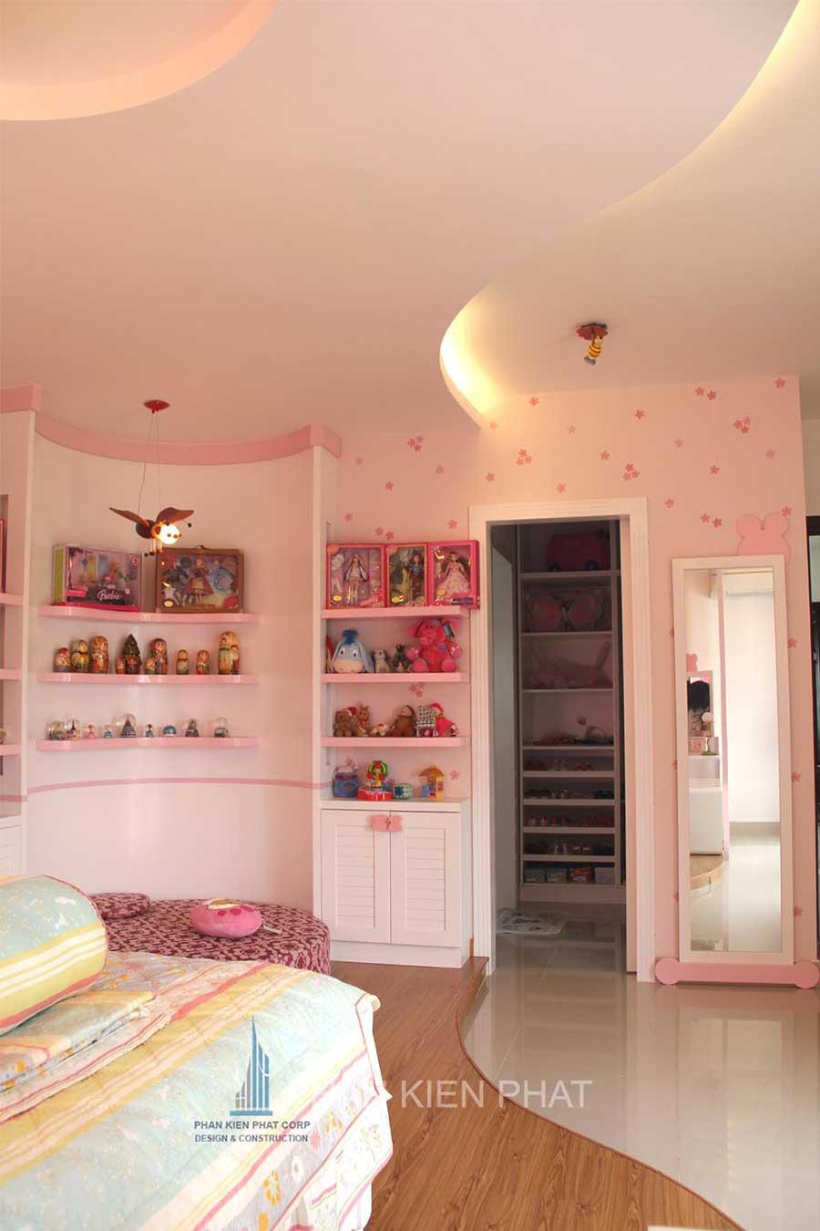 Biệt thự hiện đại - Phòng ngủ con gái