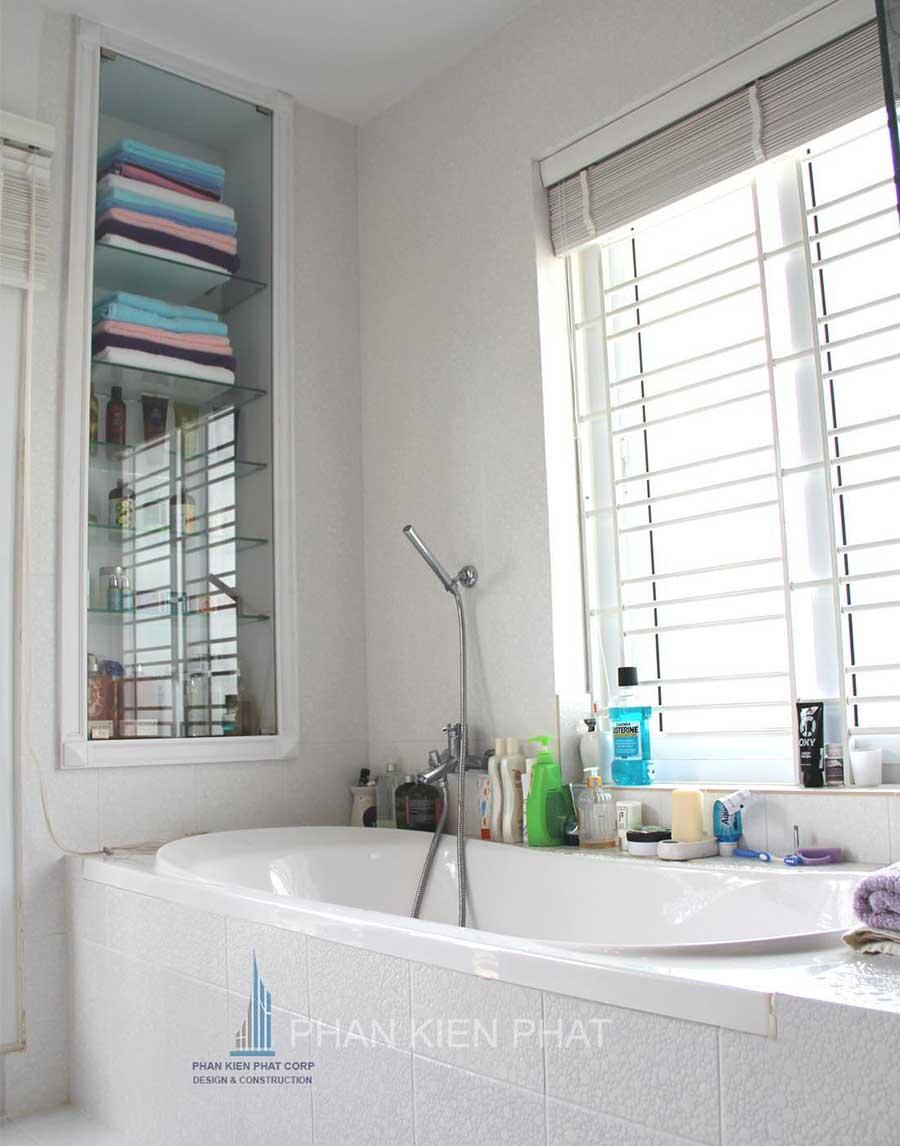 Biệt thự hiện đại - Góc nhà tắm