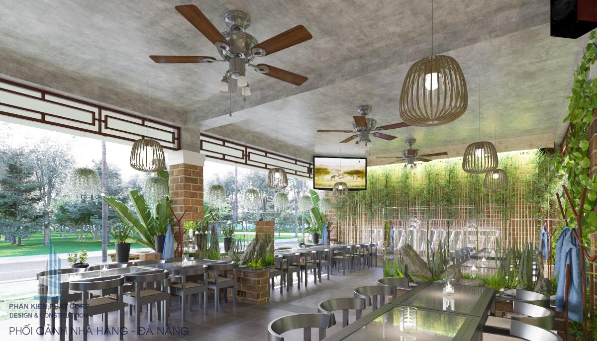 Bản vẽ nhà hàng view 19