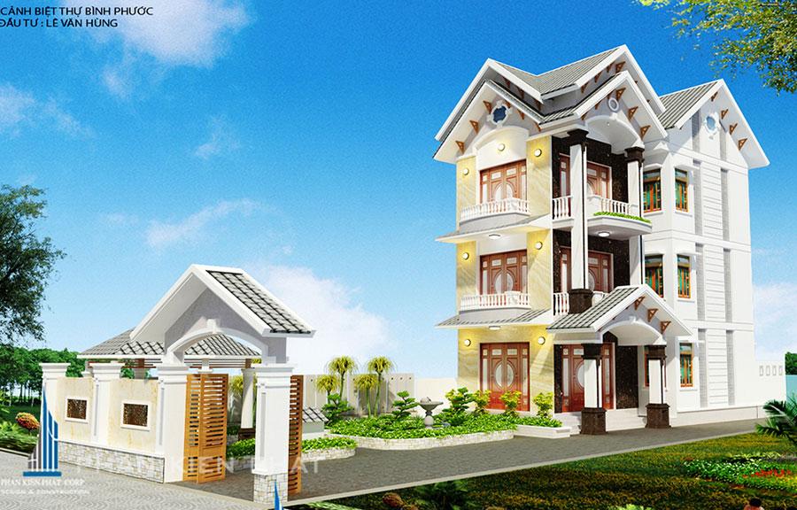 Công trình, Thiết kế xây dựng biệt thự, Anh Lê Văn Hùng