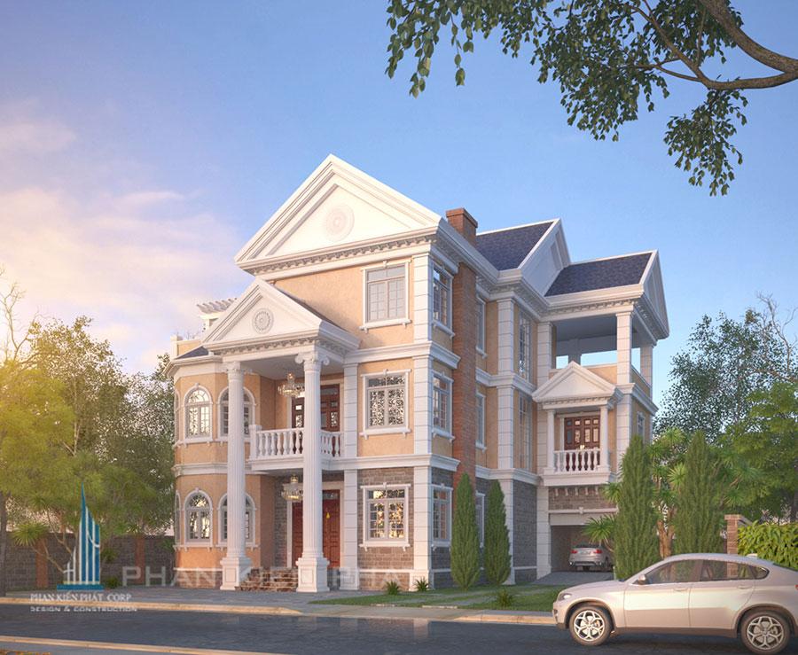 Công trình, Thiết kế xây dựng biệt thự, Anh Trần Văn Dũng