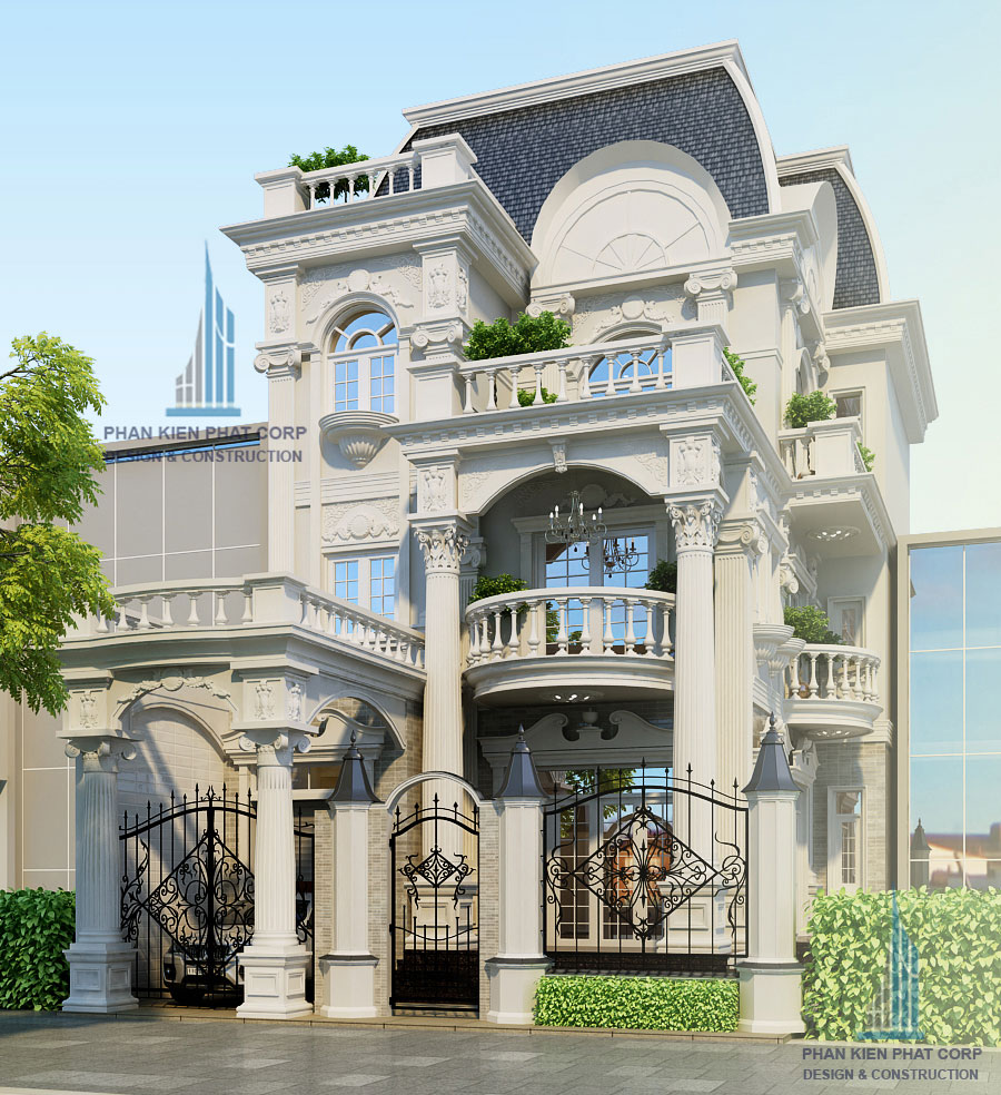 Công trình, Thiết kế nhà 3 tầng, Chị Đào Thị Hằng Nga