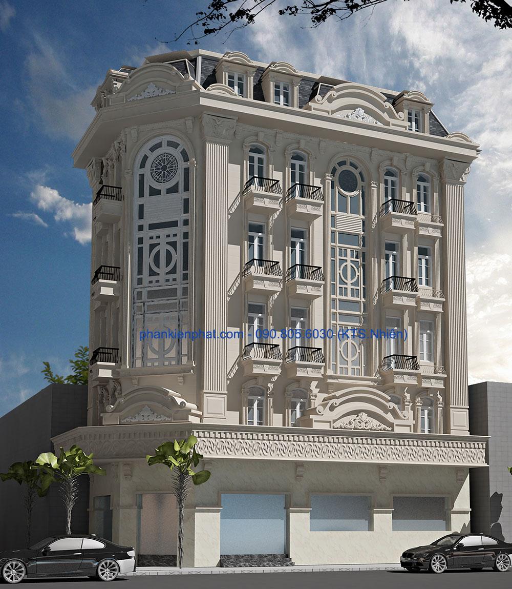 Công trình, Thiết kế xây dựng biệt thự, Chú Đức