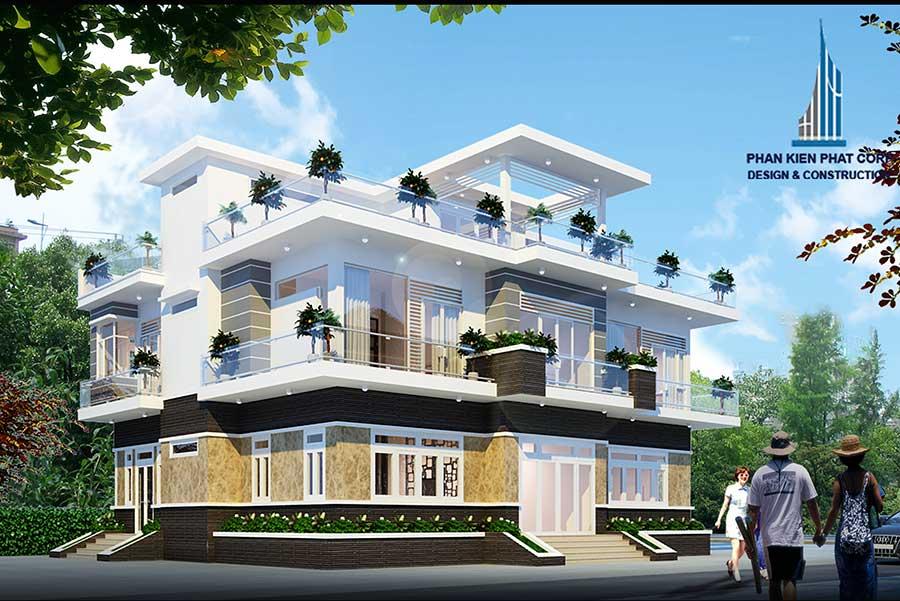 Công trình, Thiết kế xây dựng biệt thự, Anh Lê Đức Hải
