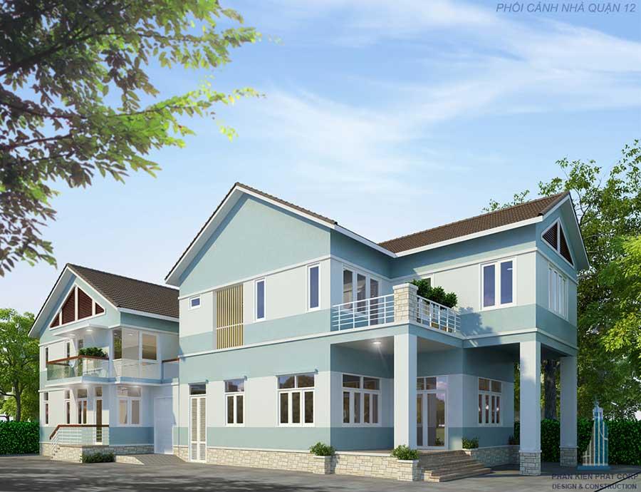 Công trình, Thiết kế xây dựng biệt thự, Chú Bùi Hồng Khương