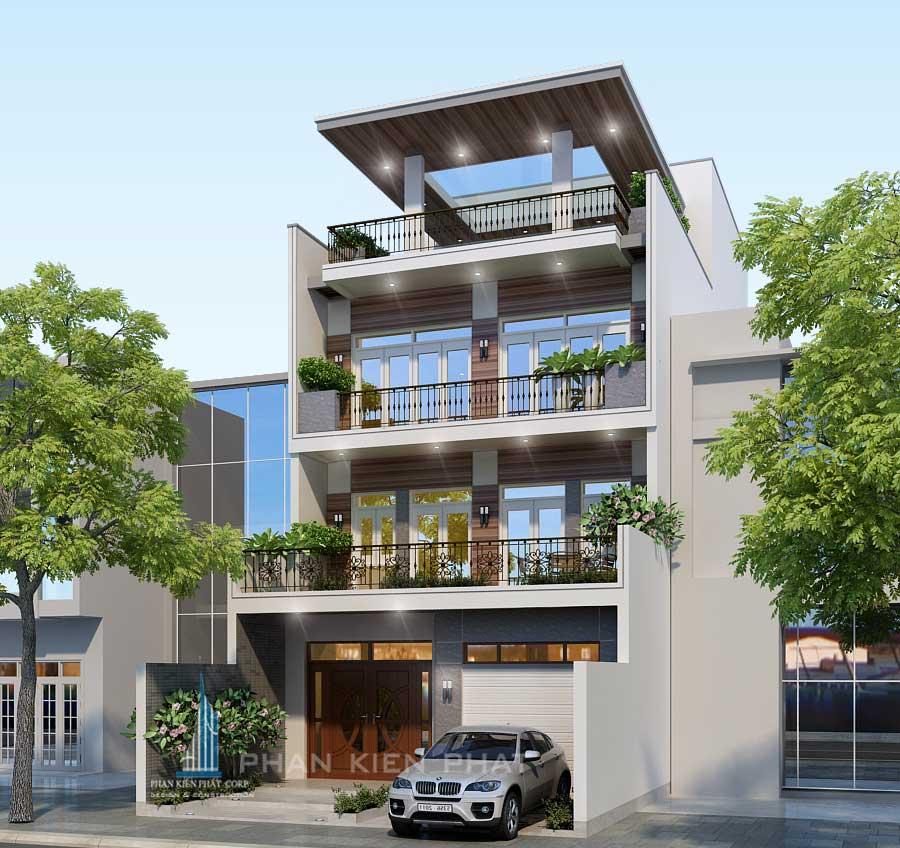 Công trình, Thiết kế xây dựng biệt thự, Chị Dương Thị Cẩm Liên