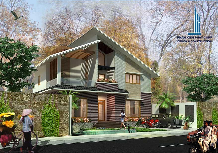 Công trình, Thiết kế xây dựng biệt thự, Anh Lê Xuân Trường