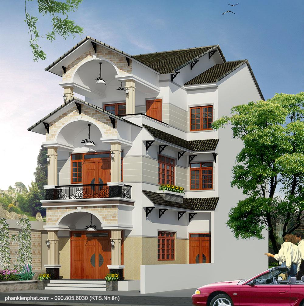 Công trình, Thiết kế xây dựng biệt thự, Anh Đức
