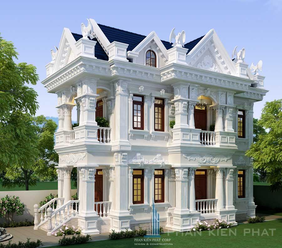 Công trình, Thiết kế xây dựng biệt thự, Anh Trần Phong