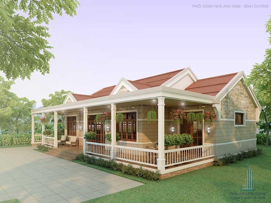 Công trình, Thiết kế xây dựng biệt thự, Anh Nam