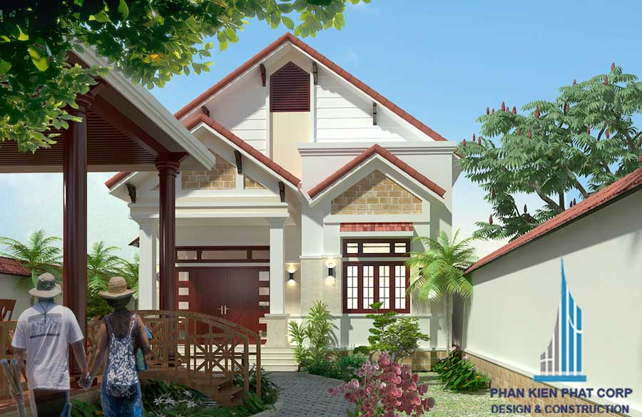 Công trình, Thiết kế nhà 1 tầng, Anh Trinh Văn Khấn