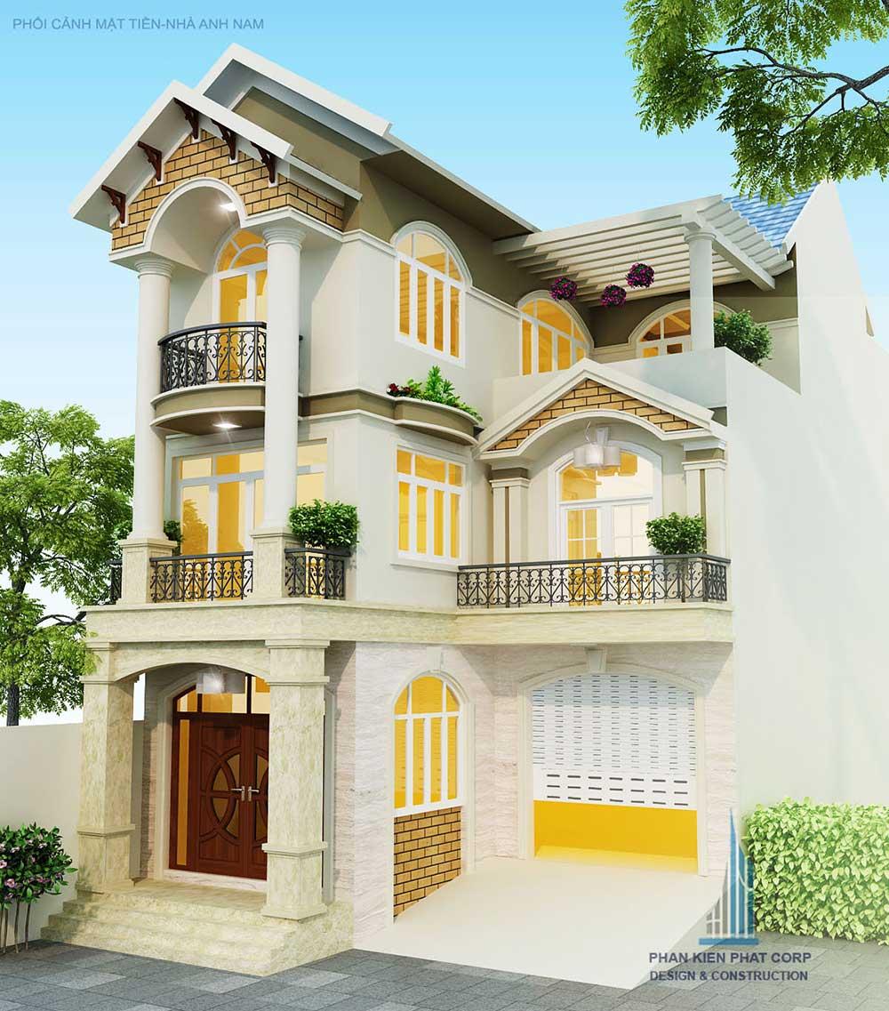 Công trình, Thiết kế xây dựng biệt thự, Anh Hồ Anh Nam