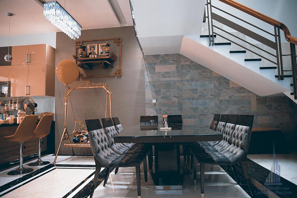 Công trình biệt thự hiện đại 3 tầng góc view 9