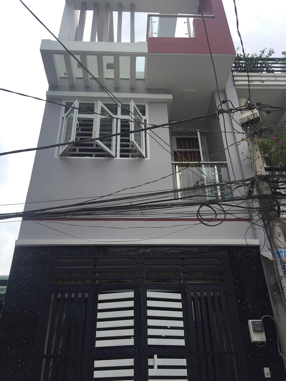 Công trình nhà phố hoàn thiện 2