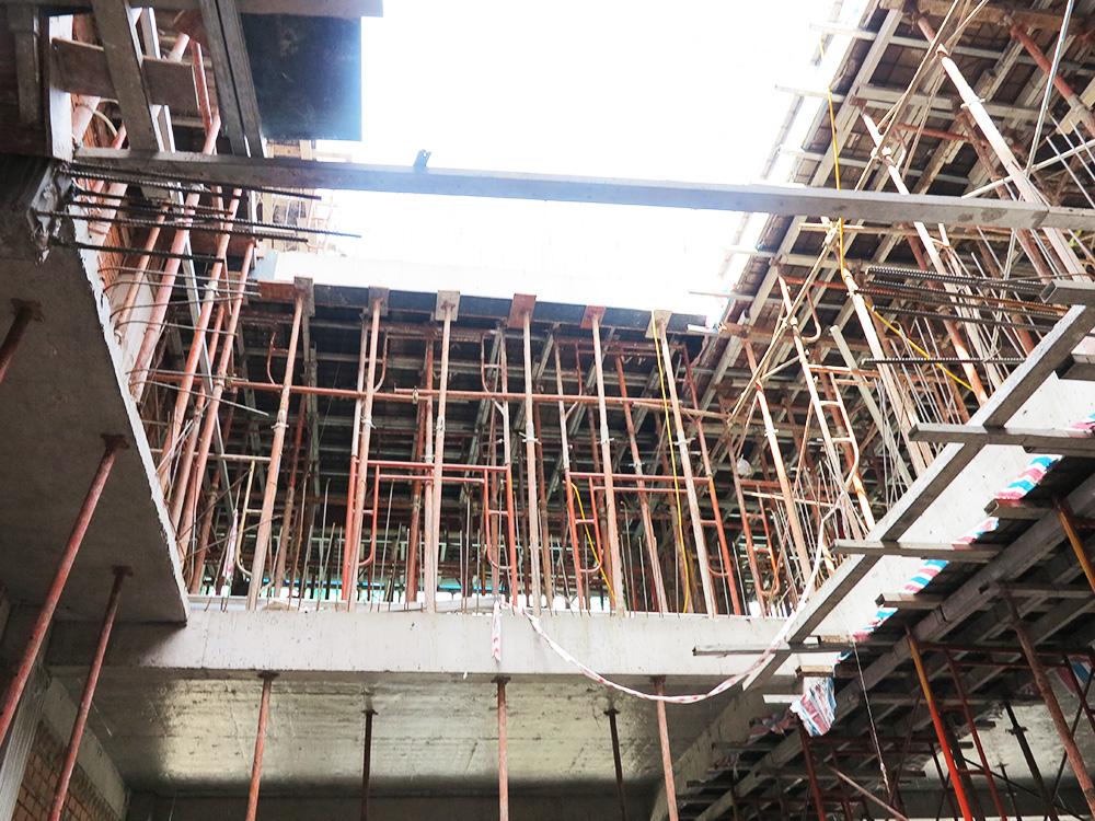 Công trình tòa nhà văn phòng do Phan Kiến Phát thiết kế thi công góc view 14