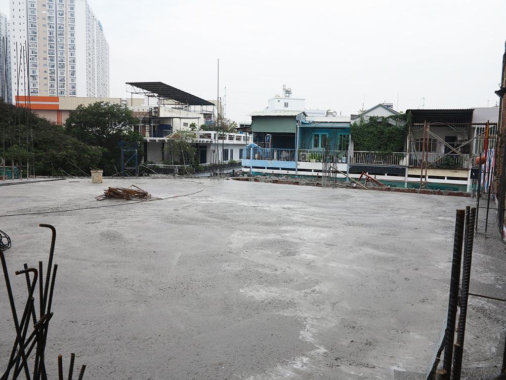 Công trình tòa nhà văn phòng do Phan Kiến Phát thiết kế thi công góc view 26