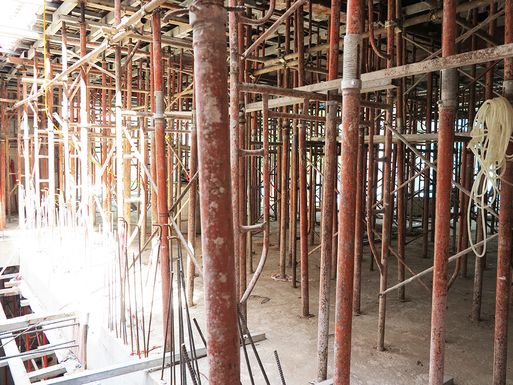 Công trình tòa nhà văn phòng do Phan Kiến Phát thiết kế thi công góc view 7