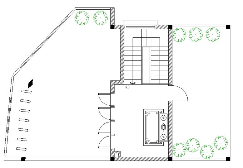 Thiết kế nhà phố - Sân thượng