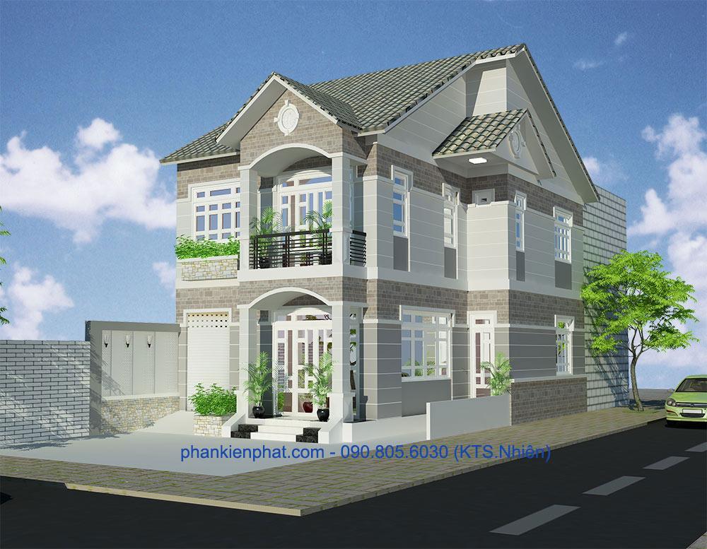 Công trình, Thiết kế xây dựng biệt thự, Anh Minh Trí