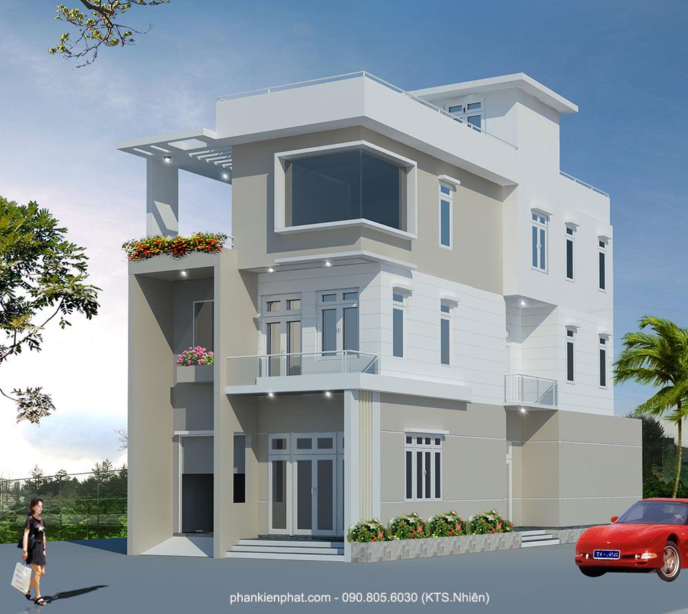 Công trình, Thiết kế nhà 4 tầng, Bác Trường Giang