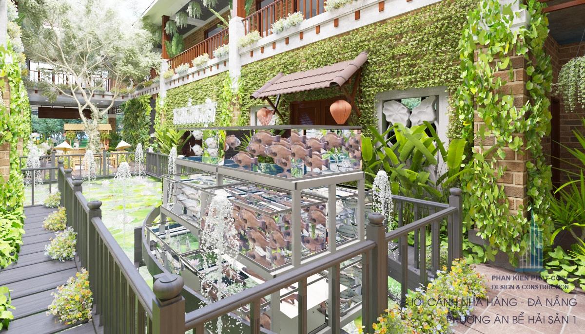 Nhà hàng phong cách truyền thống view 16a