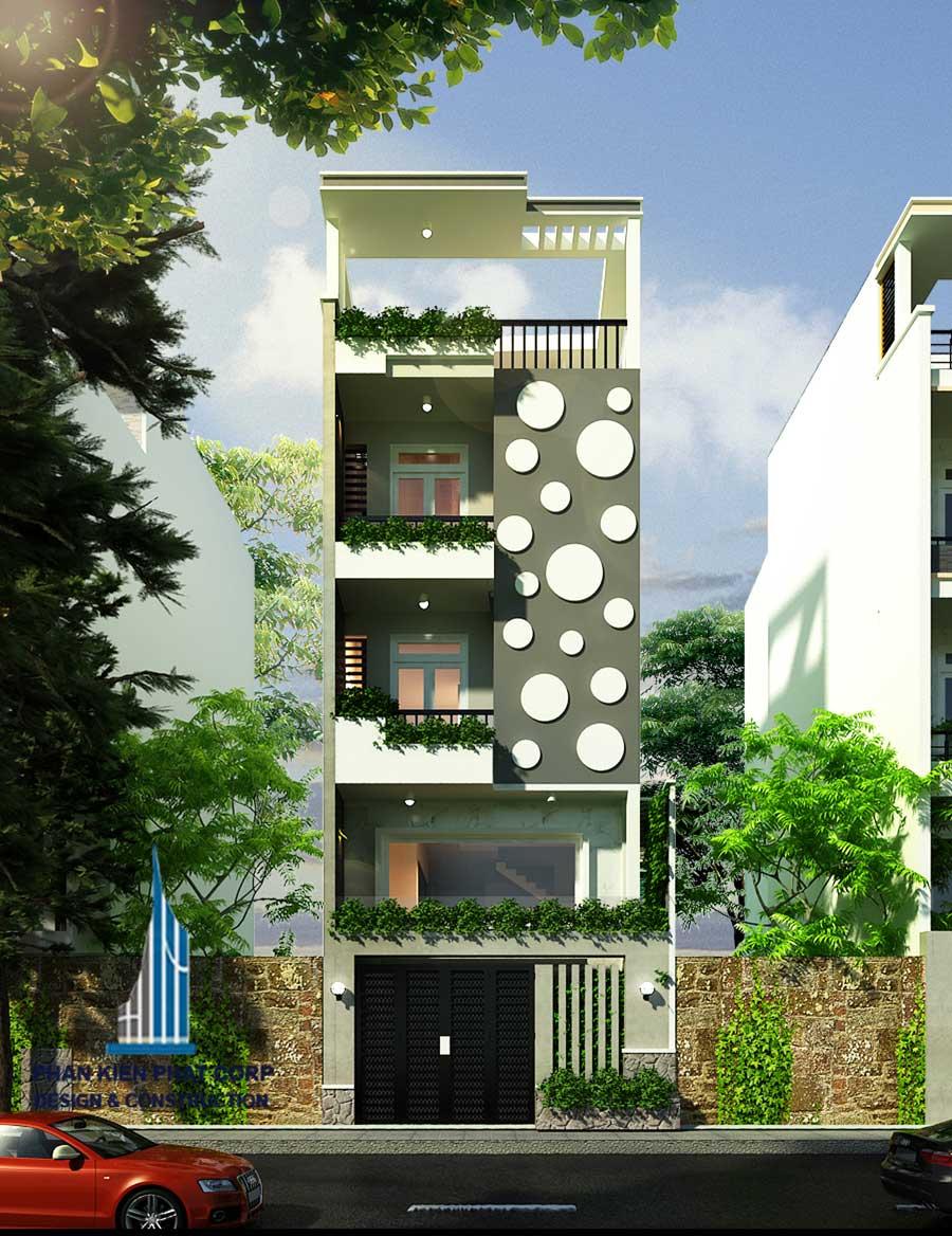 Công trình, Thiết kế xây dựng nhà phố, Chị Nguyễn Thùy Ngọc Dung