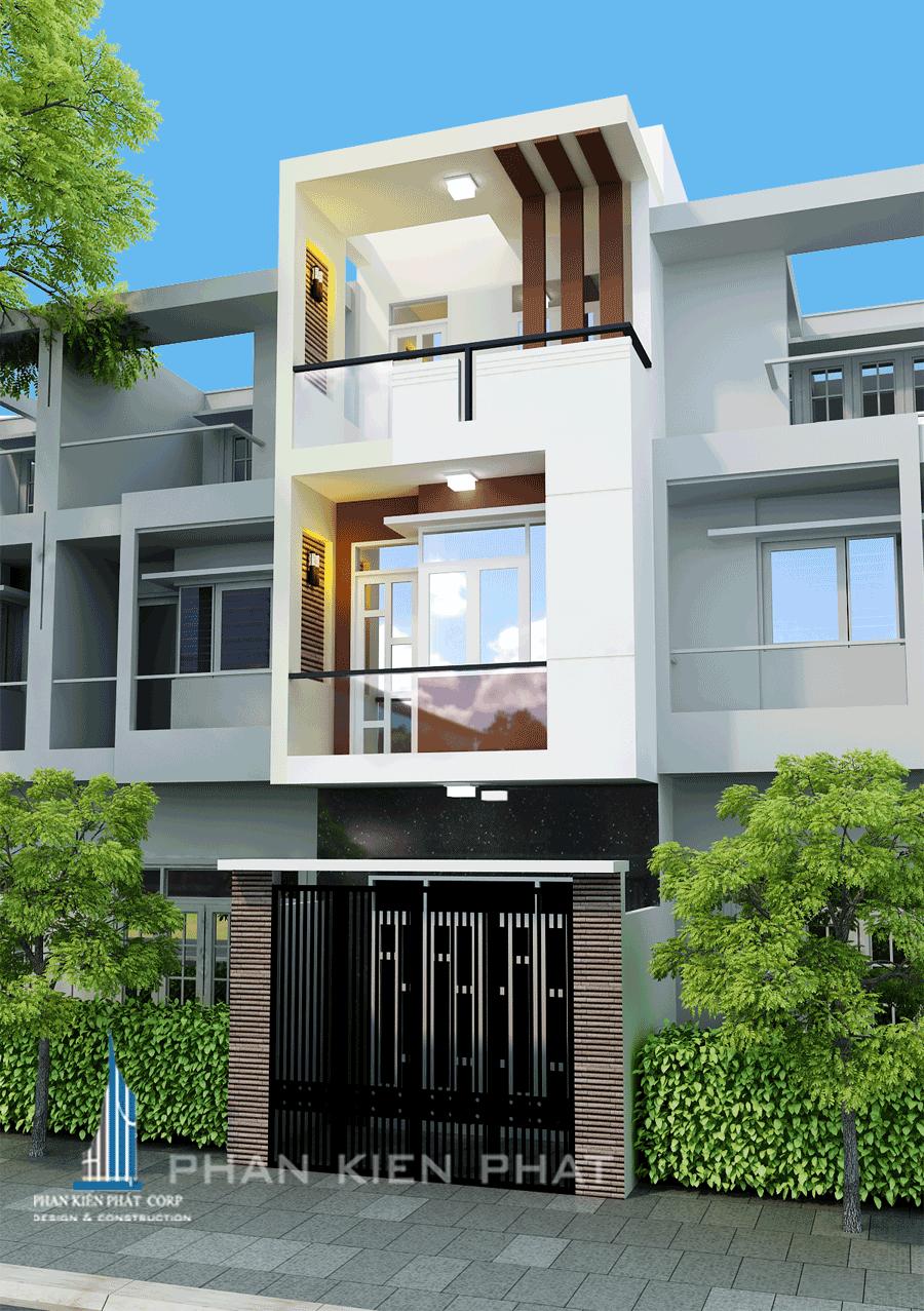 Công trình, Thiết kế xây dựng nhà phố, Chị Nguyễn Thị Tú