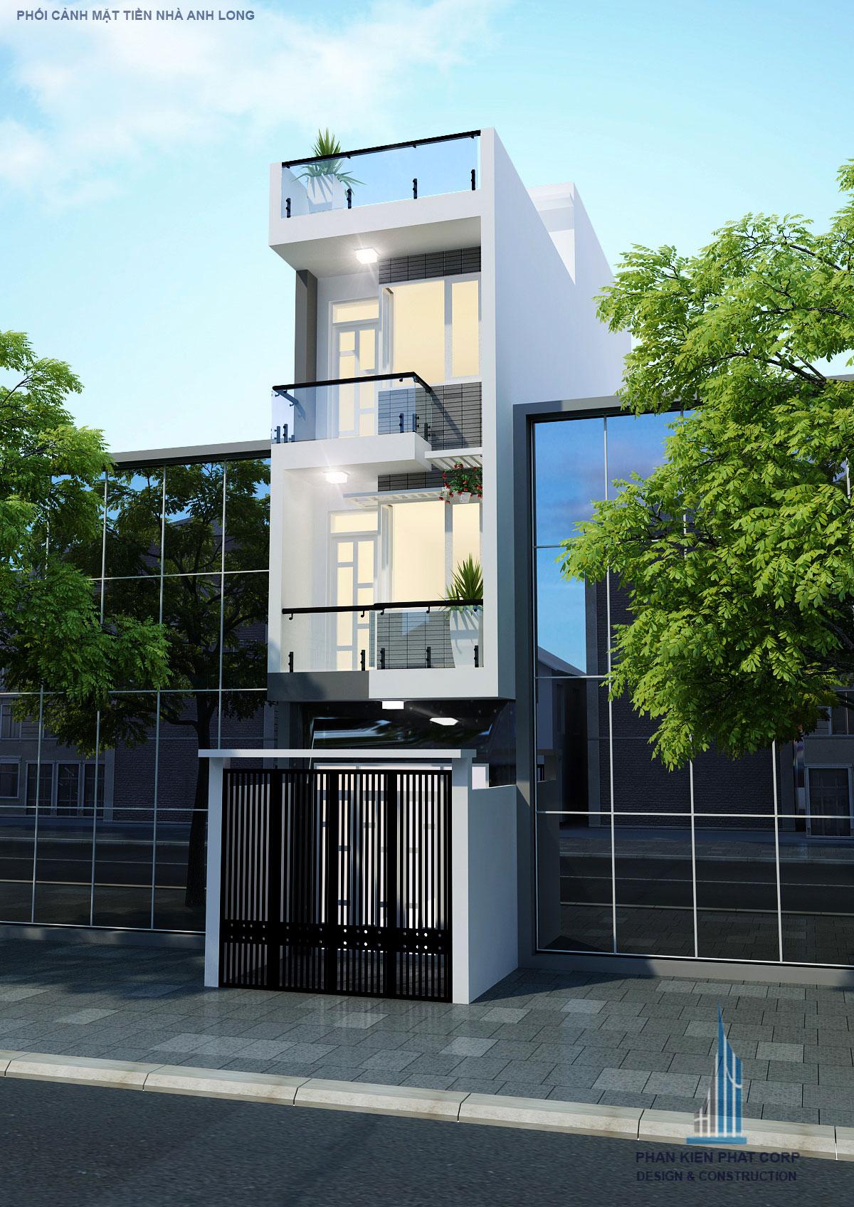 Công trình, Thiết kế xây dựng nhà phố, Anh Thái Văn Long