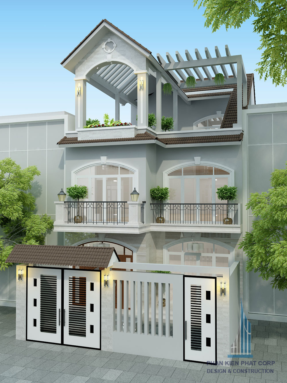 Công trình, Thiết kế xây dựng nhà phố, Anh Trần Thanh Vinh