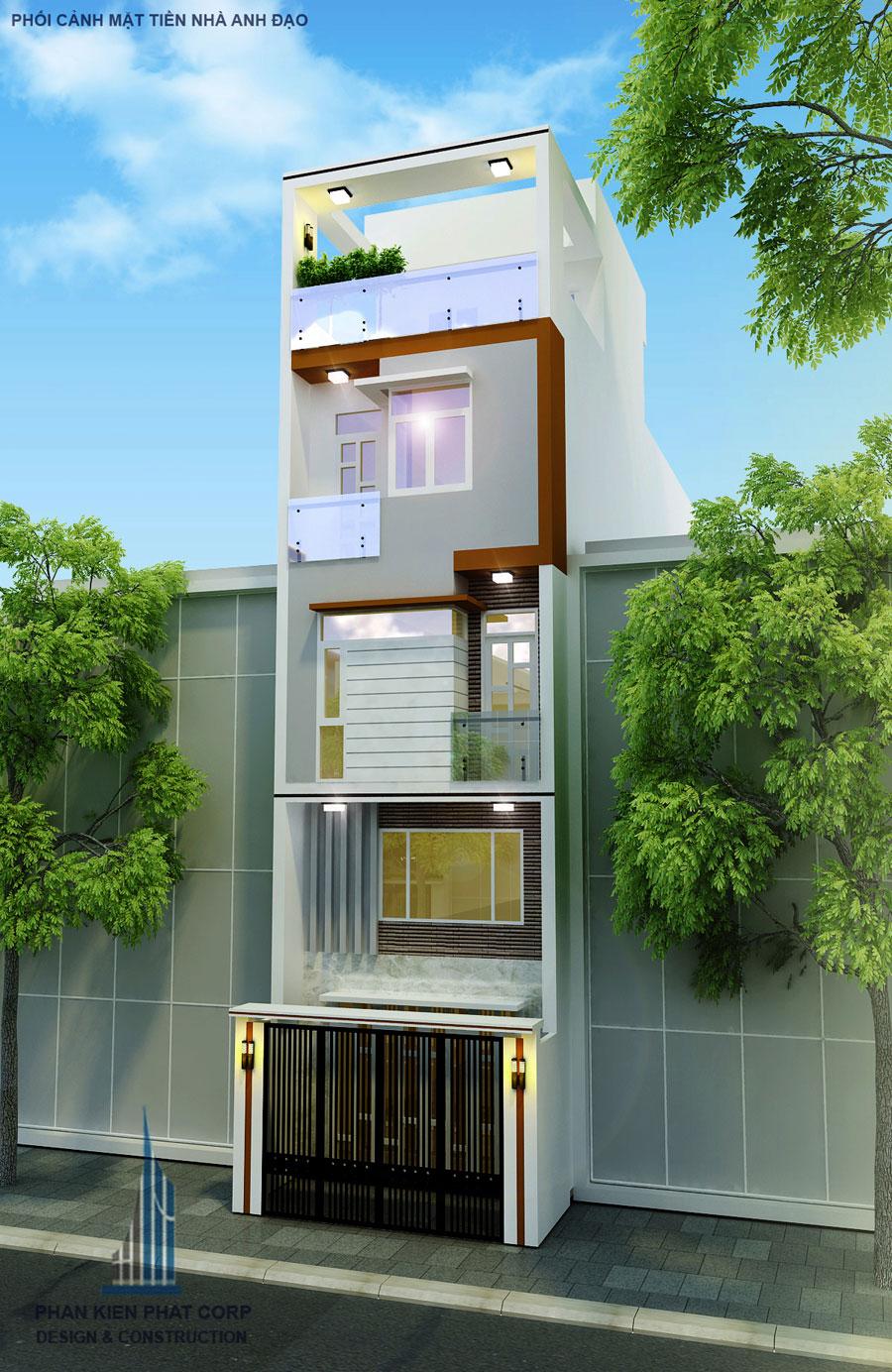 Công trình, Thiết kế xây dựng nhà phố, Anh Nguyễn Hoàng Đạo