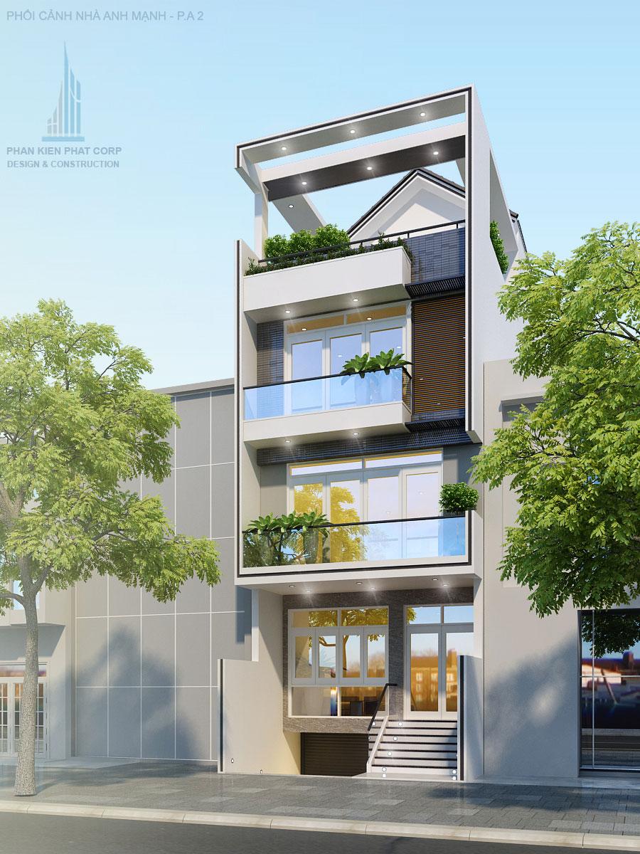 Công trình, Thiết kế xây dựng nhà phố, Anh Lê Văn Mạnh
