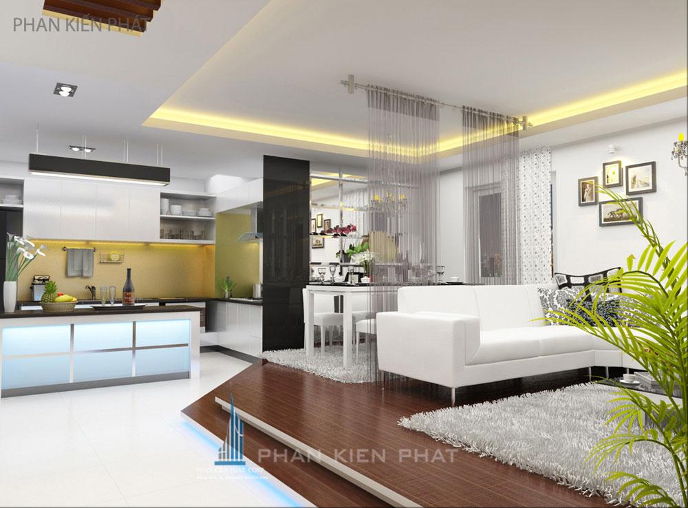 Nội thất, Nội thất căn hộ chung cư, Chị Đào Thị Lưu Trang