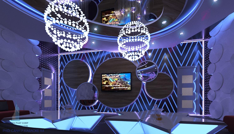 Nội thất karaoke phòng 4 view 2