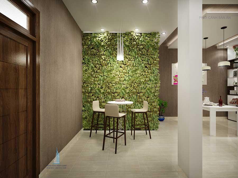 Phòng ăn - mẫu nhà 3 tầng bán cổ điển