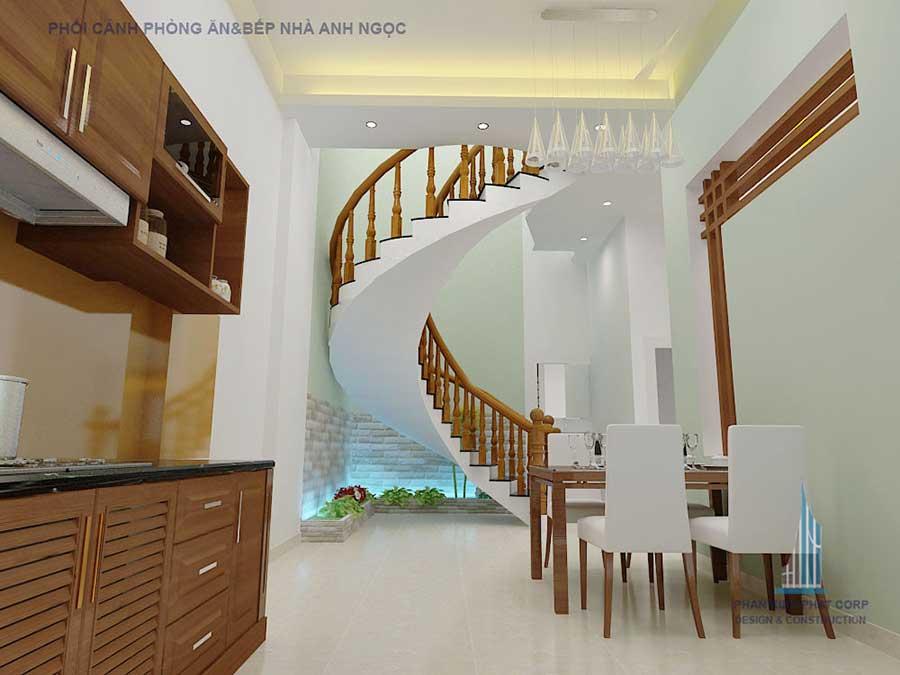 Phòng bếp - biệt thự 10x20m 3 tầng