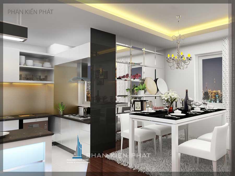 Thiết kế nội thất - Bếp góc 3