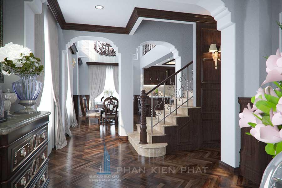 Thiết kế biệt thự 5x20m - Cầu thang