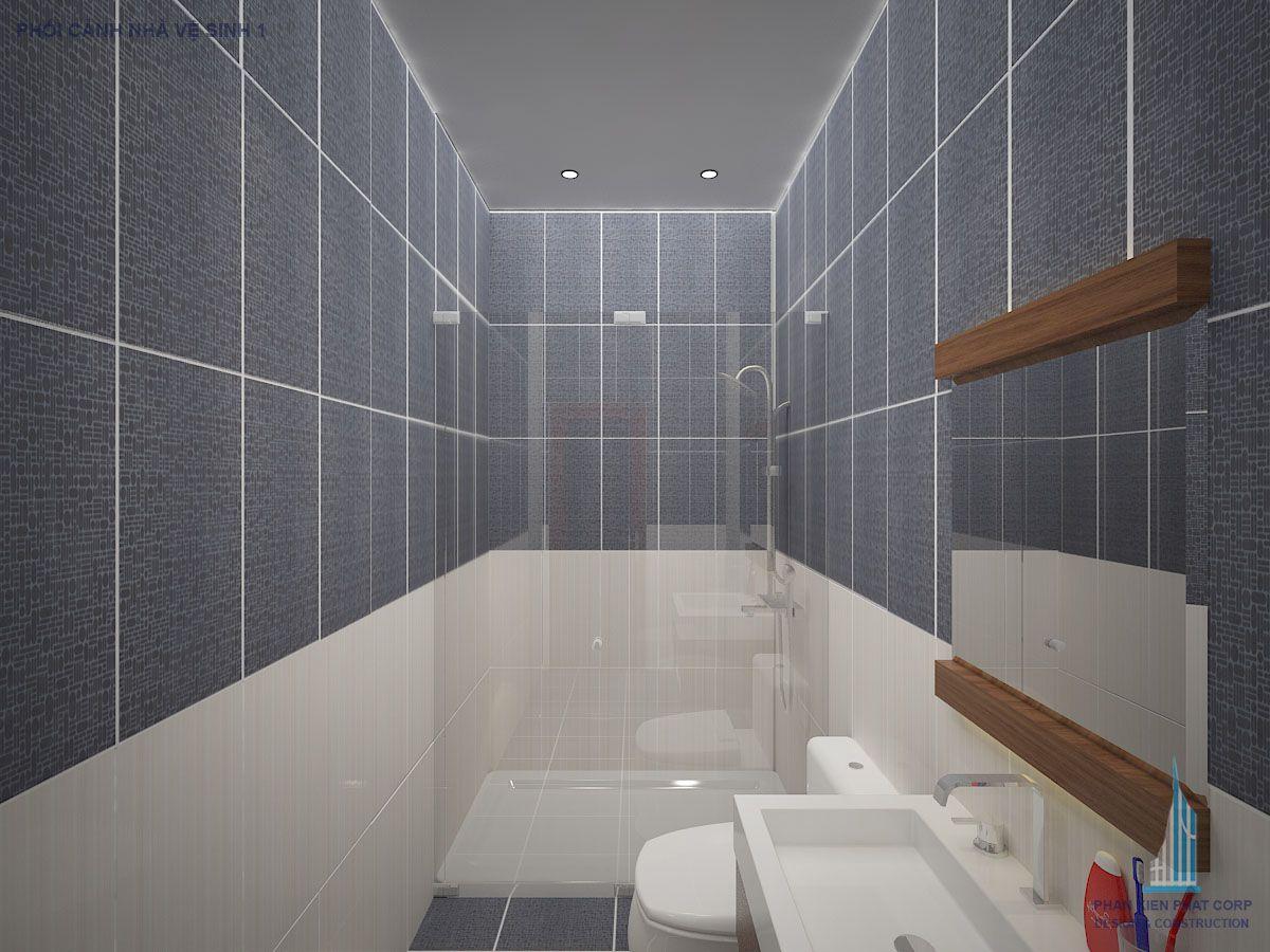Phối cảnh nhà vệ sinh wiew 1