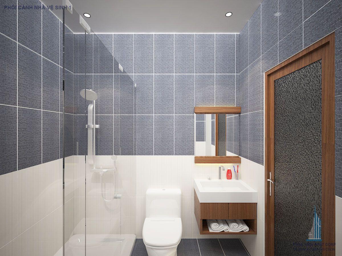 Phối cảnh nhà vệ sinh wiew 2