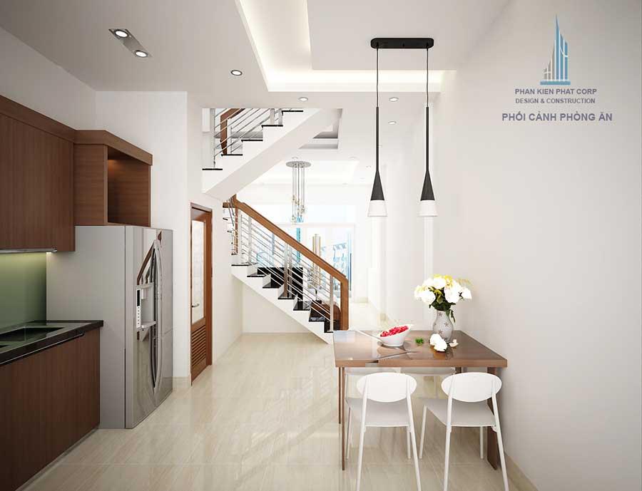 Nhà 3 tầng mặt tiền - Phòng ăn