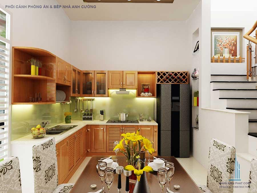 Nhà phố 2 tầng đơn giản - Phòng ăn góc 1