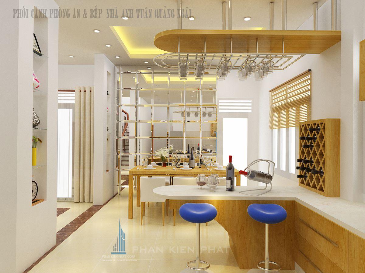 Phối cảnh phòng ăn wiew 2