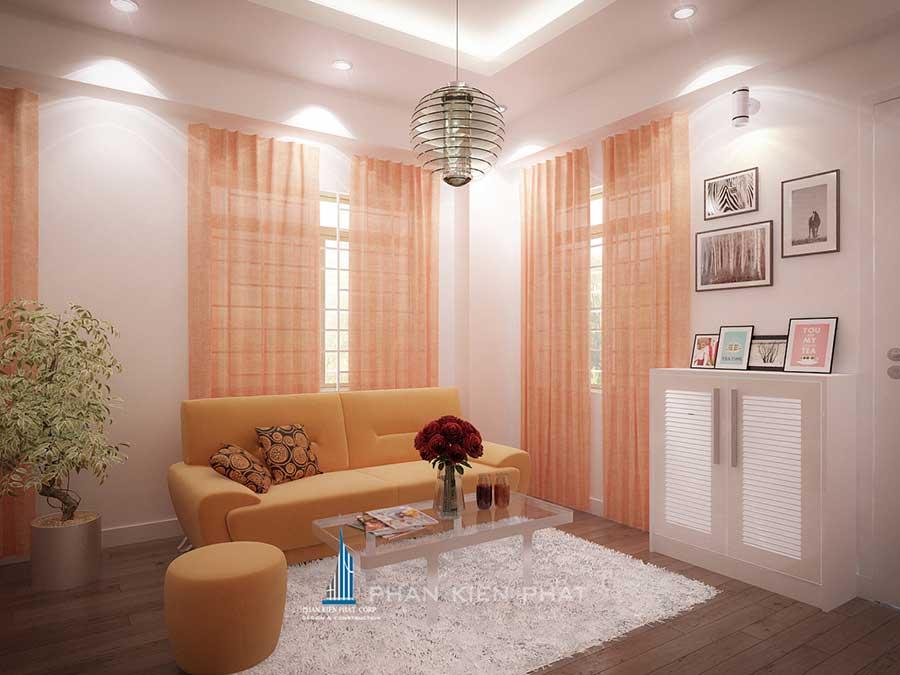 Nội thất nhà chung cư - Phòng khách góc 1