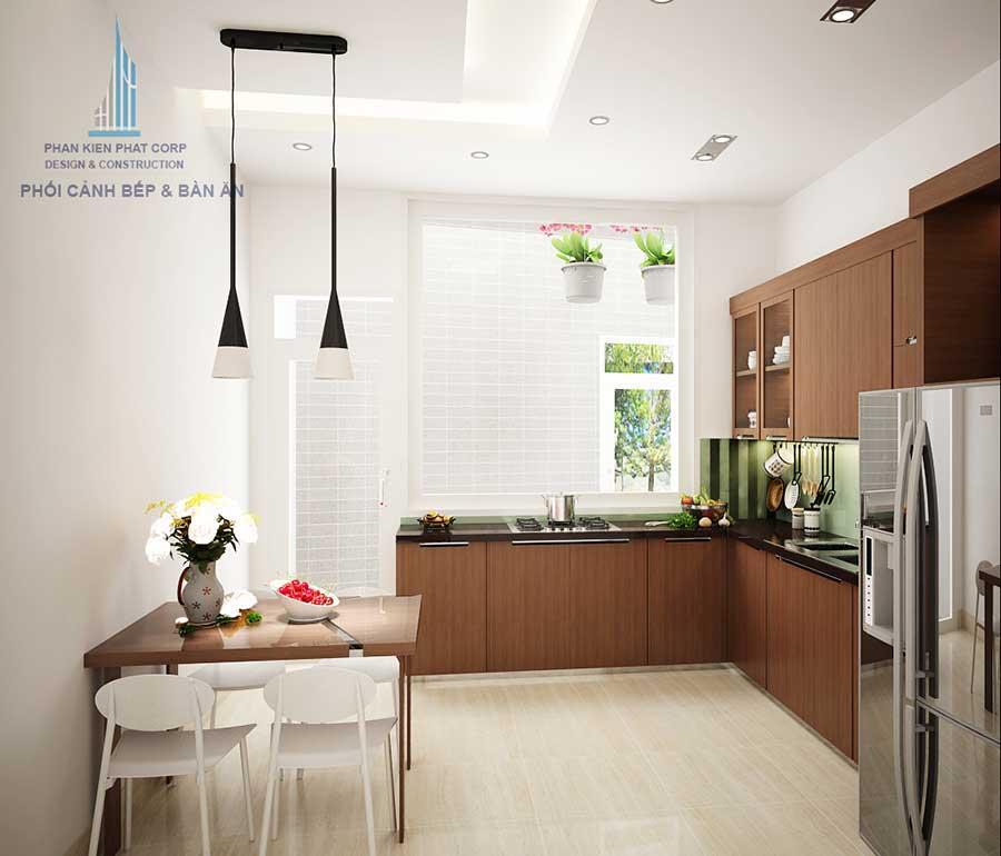 Phòng bếp 1 - nhà phố 4x18m 3 tầng