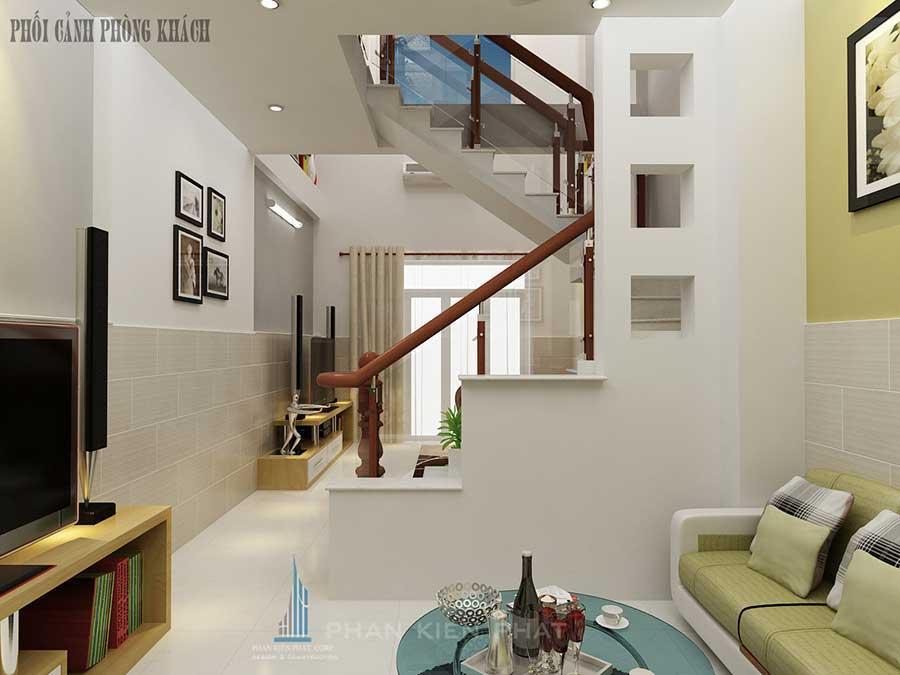 Phòng khách góc 2 - thiết kế nhà ở