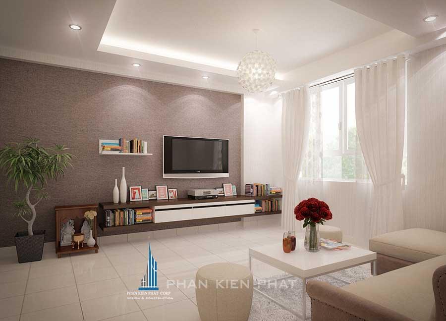 Nội thất chung cư - Phòng khách góc 2