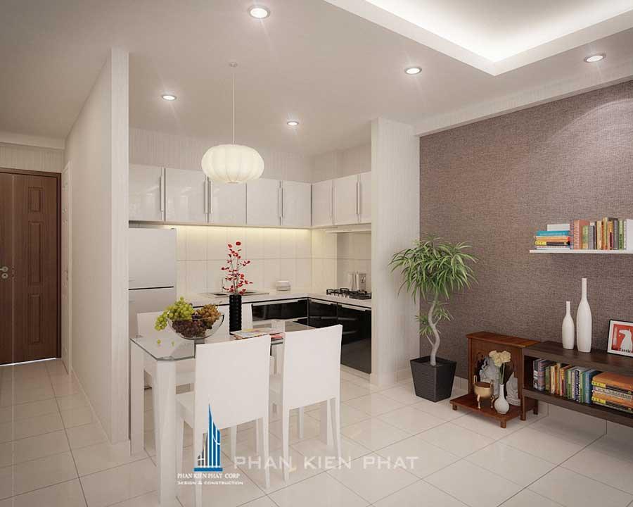 Thiết kế nội thất nhà chung cư - Phòng ăn